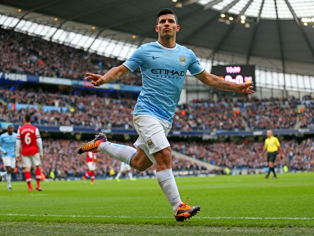 Sergio Aguero: Fully fit after injury layoff