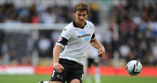 Chris Martin: On target in Derby win