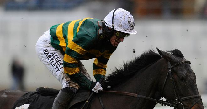 At Fishers Cross: The mount of Tony McCoy