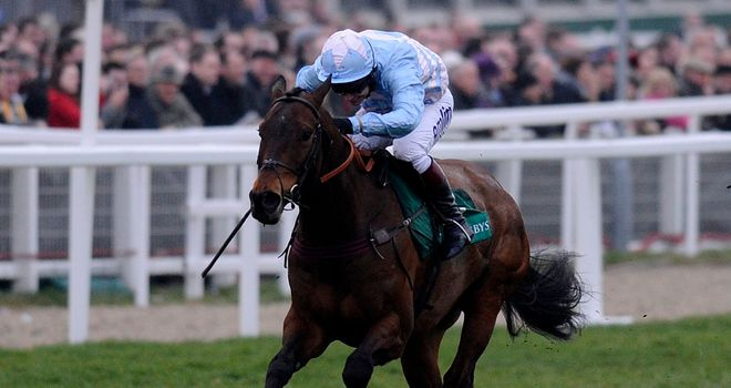 Cheltenian: Made no mistake to score