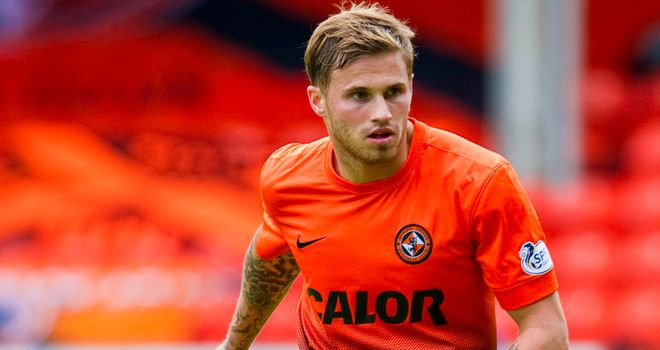 David Goodwillie: Has joined Blackpool on loan