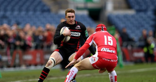 Dougie Fife on the charge for Edinburgh