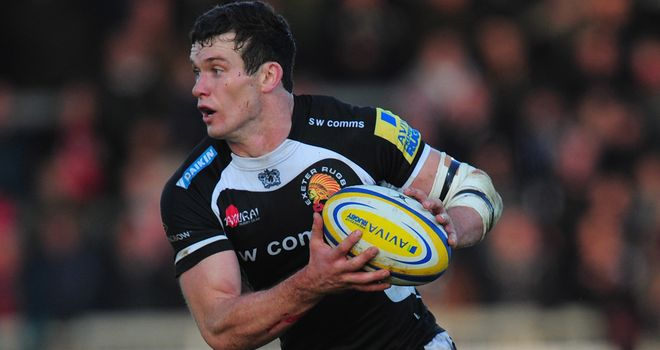 Ian Whitten: Has scored two tries in 34 appearances for Exeter