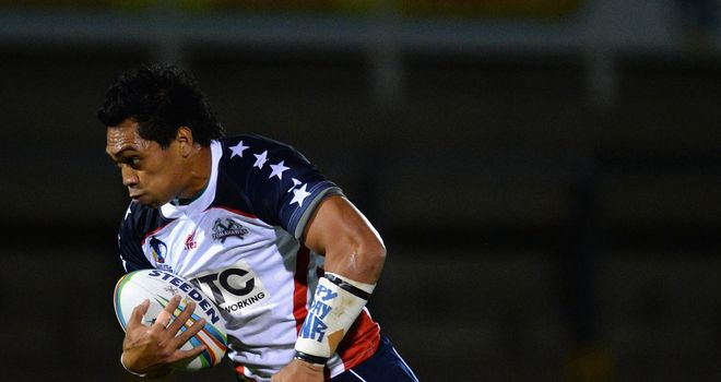 Lelauloto Tagaloa: Has joined the Sheffield Eages on a two-year contract