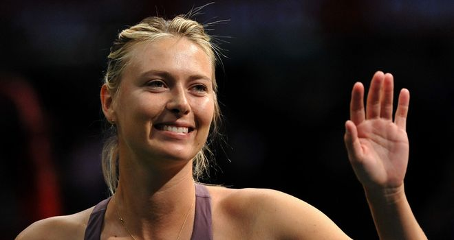 Maria Sharapova: Happy to be back
