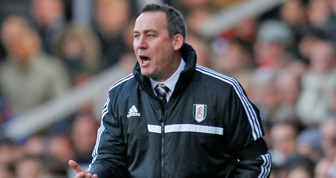 Rene Meulensteen: The Fulham boss faces Manchester City at Craven Cottage