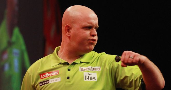 Michael van Gerwen: Firm favourite to land his first PDC title