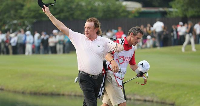 Miguel Angel Jimenez: Determined to feature at Gleneagles