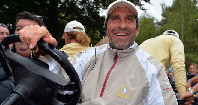 Jose Maria Olazabal hoping to complete a captain's full set
