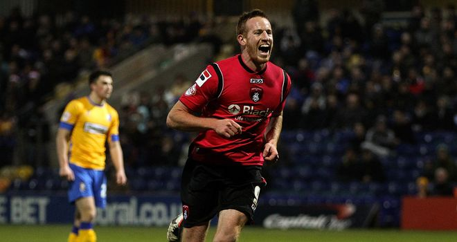 Adam Rooney: Completed the scoring
