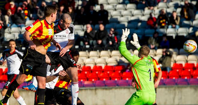 Andy Considine's early header wins the day for Aberdeen at Firhill