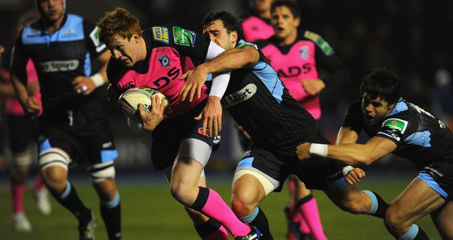 Rhys Patchell: Heads to the try line for Cardiff Blues