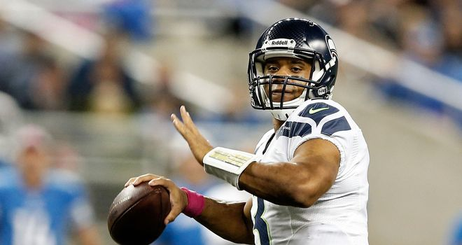 Quarterback Russell Wilson has starred for Seattle this season