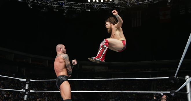 Orton and Bryan locked horns on Smackdown - until The Wyatt Family emerged