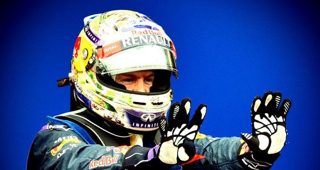 Sebastian Vettel: Award winner