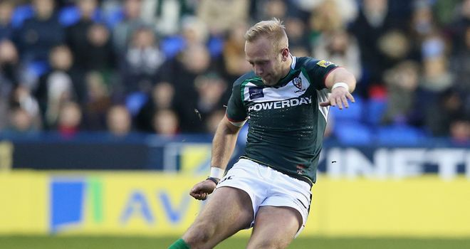 Shane Geraghty: New three-year deal at London Irish