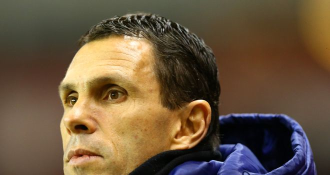 Gus Poyet: Expecting a tough test against Manchester City