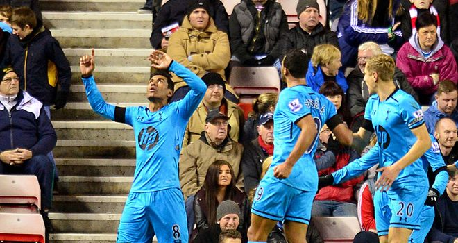 Paulinho: Scored the qualiser at the Stadium of Light with a reflex goal when Sunderland failed to clear