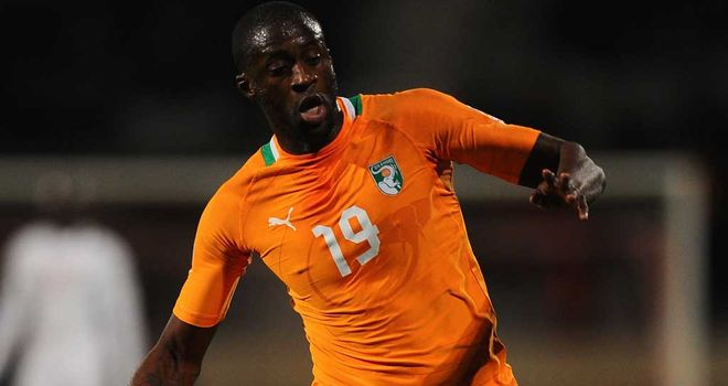 Yaya Toure: Named African Player of the Year