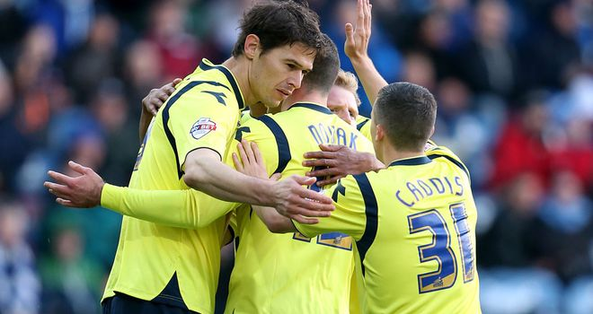 Paul Caddis: At the double for Birmingham