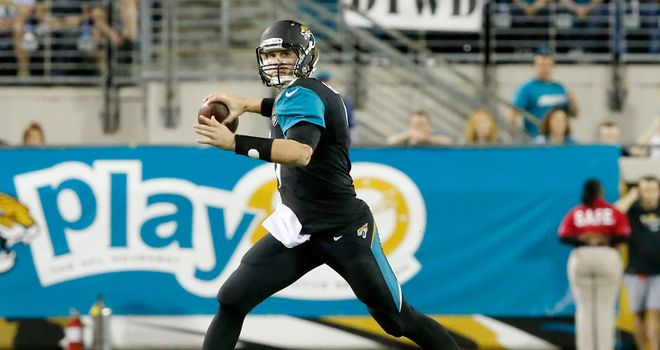 Chad Henne: Threw two touchdown passes for the Jaguars