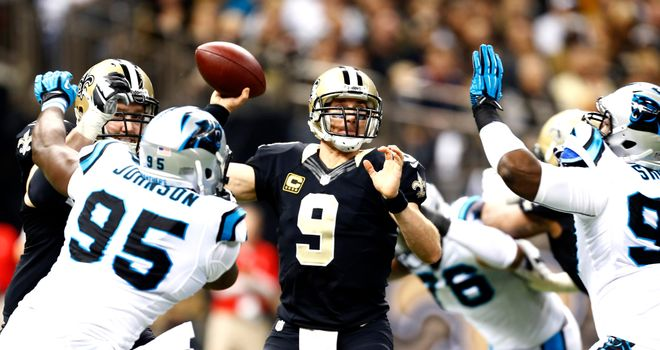 Drew Brees: New Orleans quarterback has Carolina on his mind
