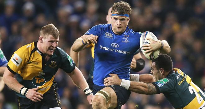 Jamie Heaslip: Agrees deal to stay in Ireland until 2017