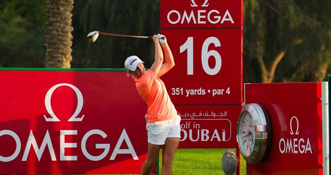 Stacy Lewis: American leads in Dubai