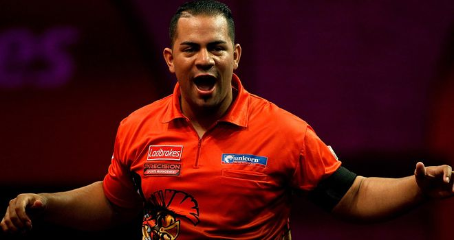 Devon Petersen: Dancing South African lit up Ally Pally