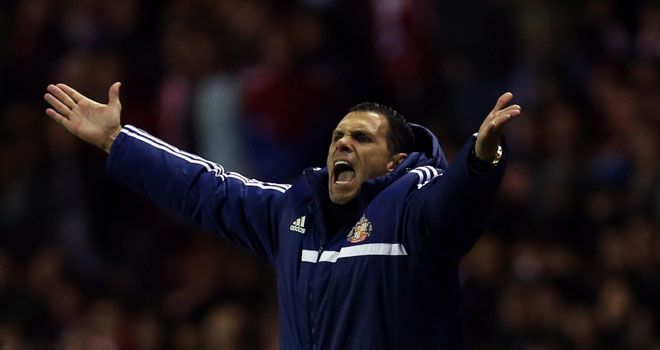Gus Poyet: Won't tinker with side