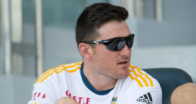 Graeme Smith: dismissed 12 times in international cricket by Zaheer Khan