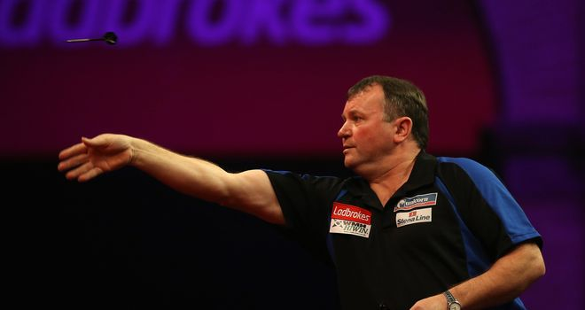 Terry Jenkins: Can pack his bags for Germany and the Netherlands