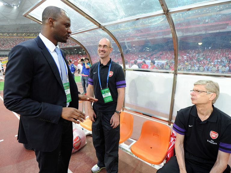 Patrick Vieira: Believes Arsene Wenger's side lack leaders