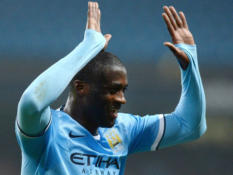 Yaya Toure: Relieved to have gained victory away from home