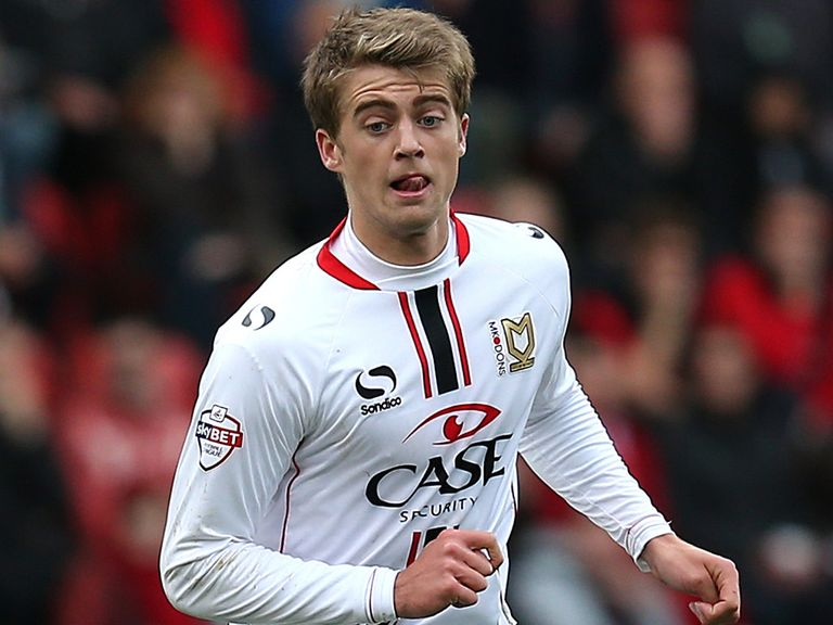 Bamford: Has scored 16 goals for MK Dons this season
