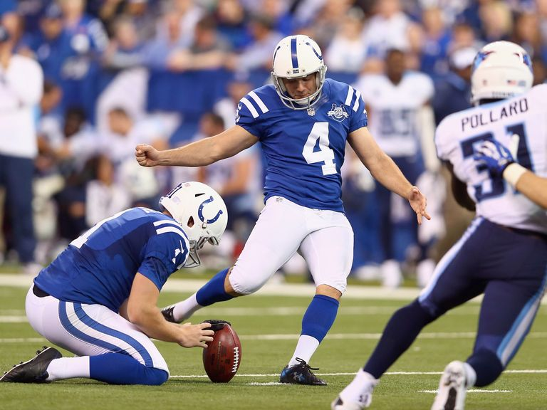 Adam Vinatieri: Now has 2.006 NFL points