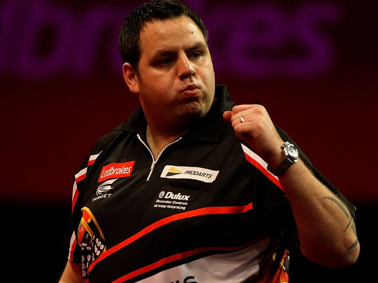 Adrian Lewis: Fancied to continue totting up the maximums