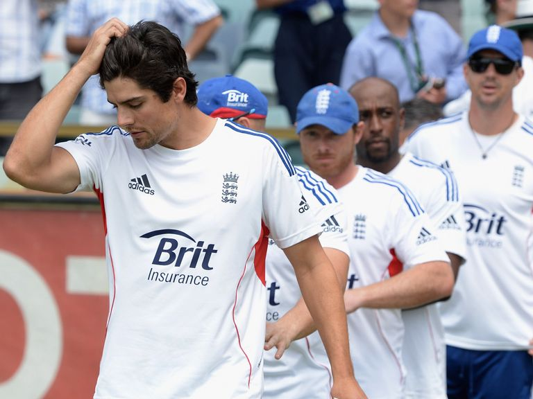 Cook and England face a potential 5-0 whitewash