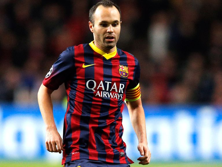 Andres Iniesta: Set to sign new deal