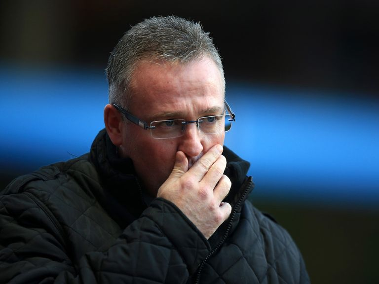 Paul Lambert: Aston Villa manager not immune from the sack