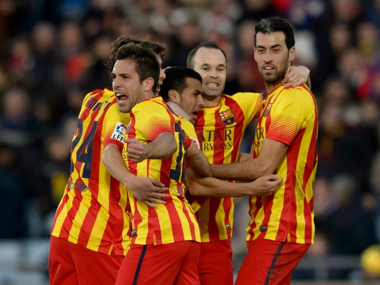 Barcelona stormed back to thrash Getafe