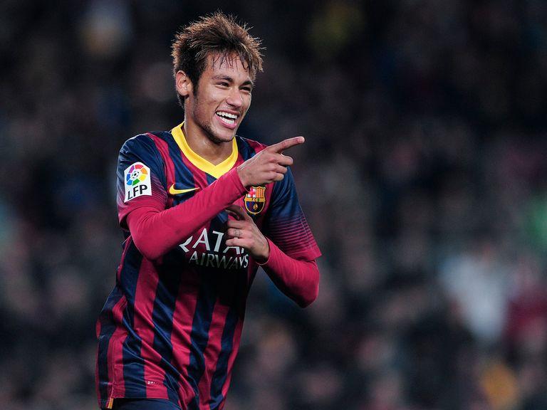 Neymar: Joined Barcelona in the summer
