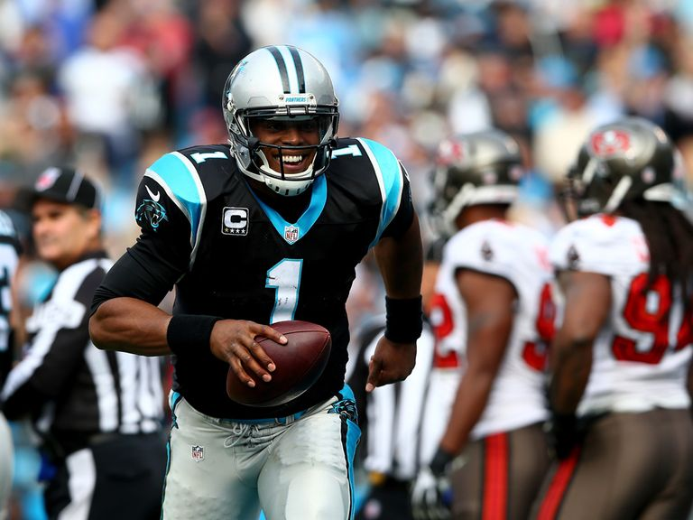 Newton led the Panthers to another victory