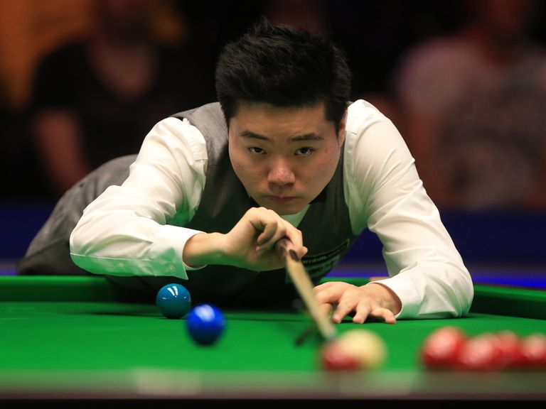 Ding Junhui: Seeking a fifth ranking title of the season