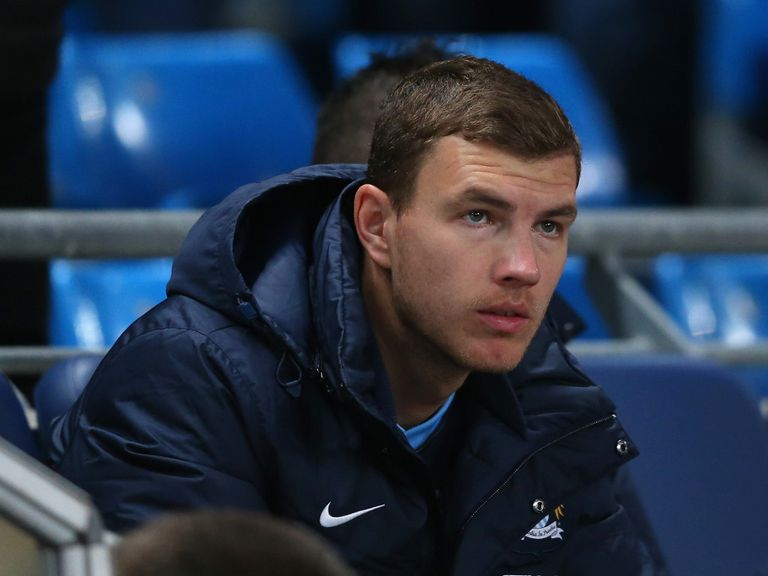 Edin Dzeko: Confident he can step up