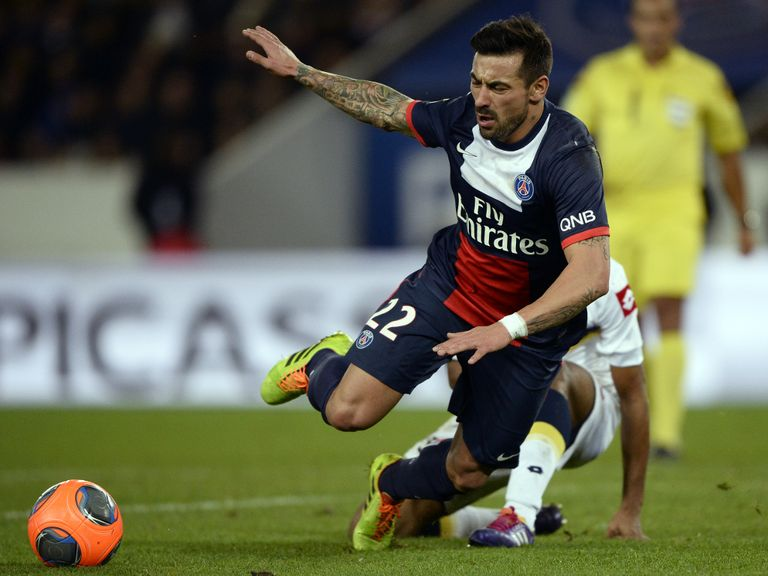 Ezequiel Lavezzi: Confident ahead of Chelsea clash