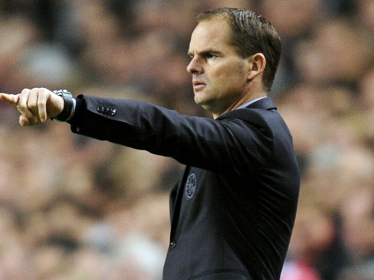Frank de Boer: Says he has heard nothing more from Spurs