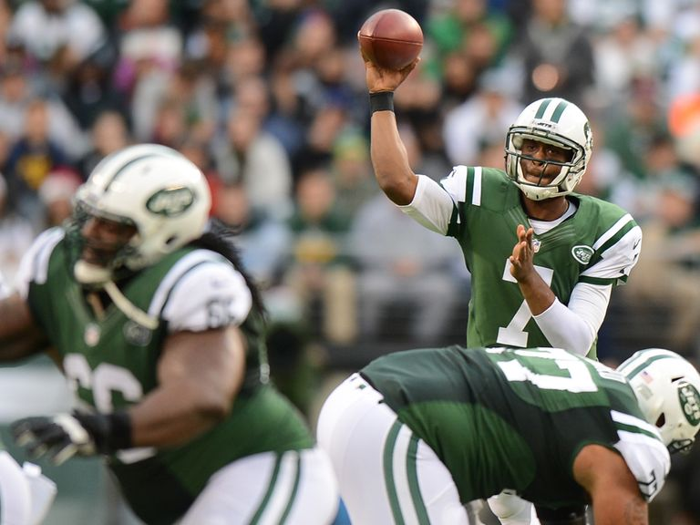 Geno Smith in action for the Jets
