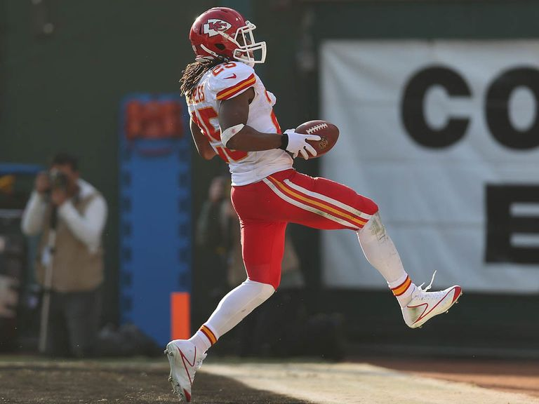 Jamaal Charles: Claimed five touchdowns