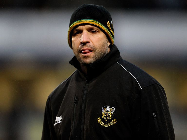 Jim Mallinder: Has signed a new five-year deal with Northampton